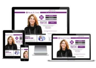 Nicole M Grant website